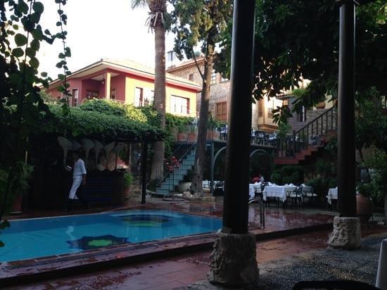 Alp Pasa Hotel : Petit oasis de fraîcheur