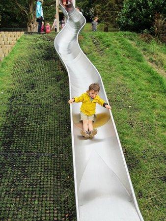 Cwmdonkin Park: Slide in the park