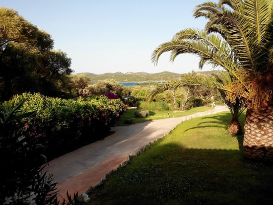 Maora Village: Vue de la terrasse :-)