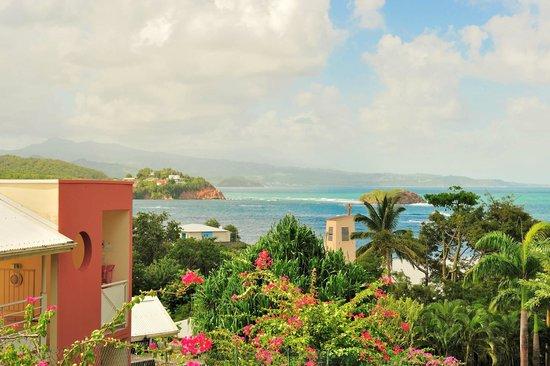 Karibéa Résidence La Goélette: Karibea résidence la Goelette - vue sur le village de Tartane