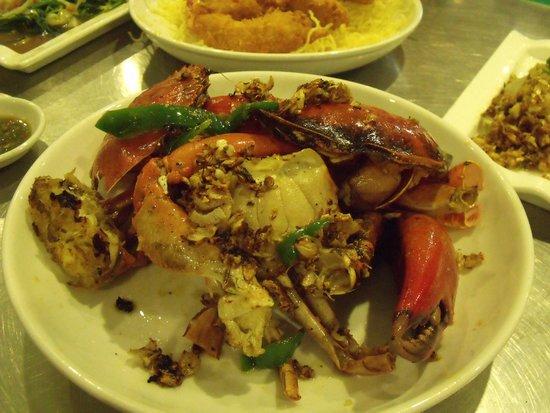 Minn Lan: Crabs ala Yangon style