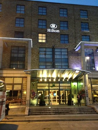 Hilton Dublin: Exterior View of the hotel