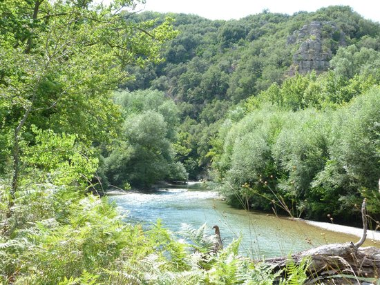 Zagorohoria, Greece: Voidomatis River