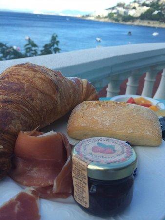 Vistabella: Ontbijt