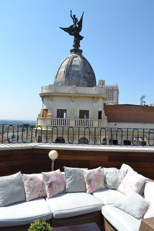 Hotel Vincci Via 66: la terrasse