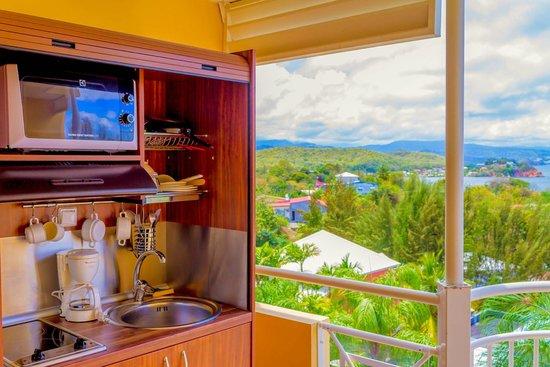 Karibéa Résidence La Goélette: Karibea résidence la Goelette - Vue des chambres
