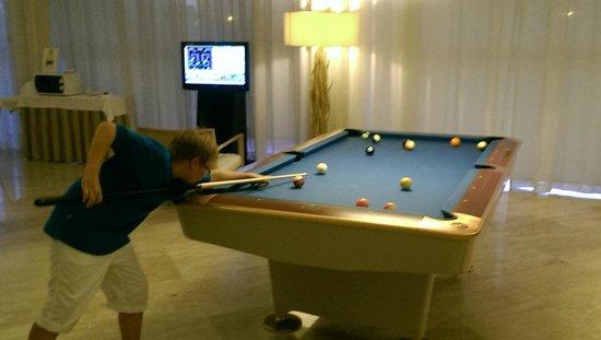 Crowne Plaza Vilamoura - Algarve: pool table