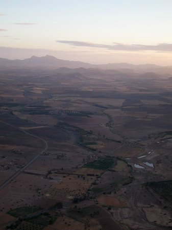 Marrakech By Air: View from the air