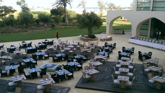 Crowne Plaza Vilamoura - Algarve : Barbeque evening outdoors