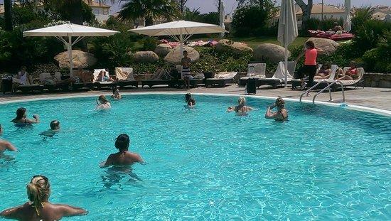 Crowne Plaza Vilamoura - Algarve: Aqua aerobics