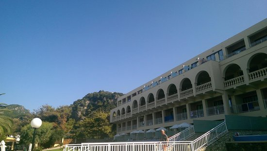 lti Louis Grand Hotel: rear of the hotel from poolside