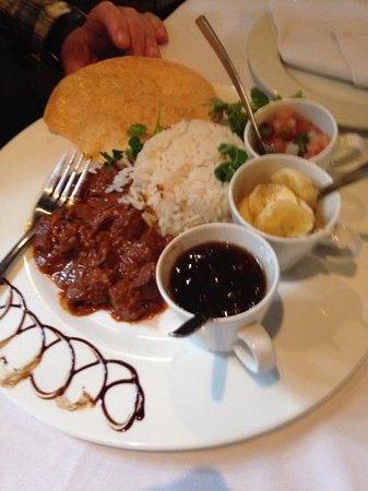Sleepers Restaurant: Mutton curry !