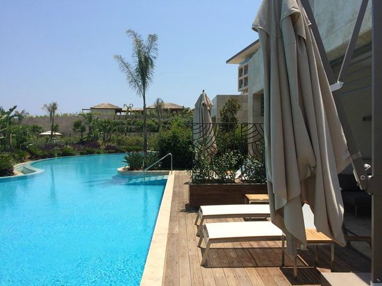 Regnum Carya Golf & Spa Resort: View from the villa with private pool