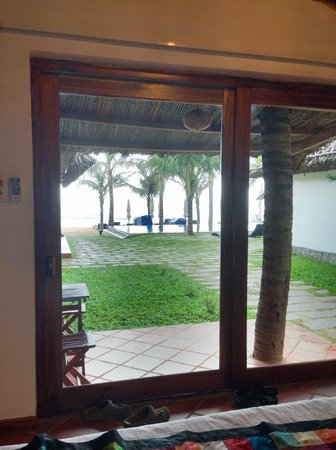 Ananda Resort: View from a beach front room
