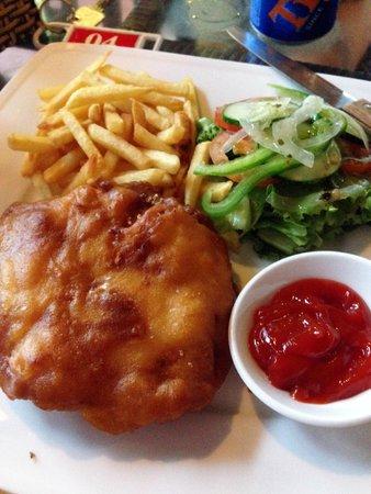 Ananda Resort: Chicken Corden Bleu