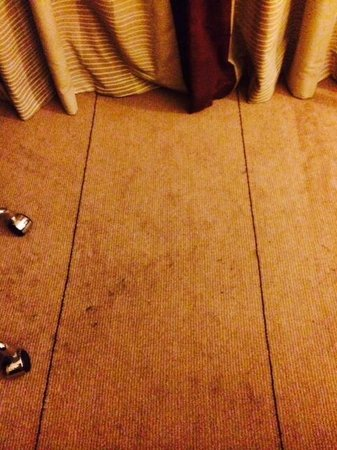Hilton Manchester Airport : Dirty carpet
