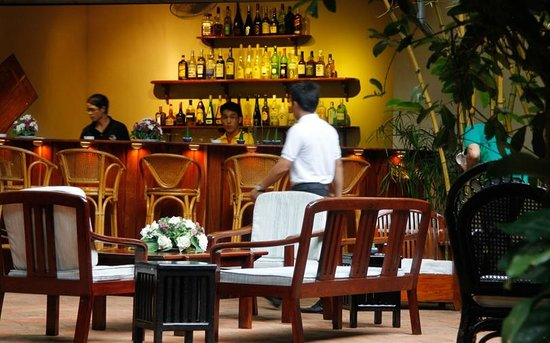 Blue Lagoon Restaurant : Our Buddha Luange