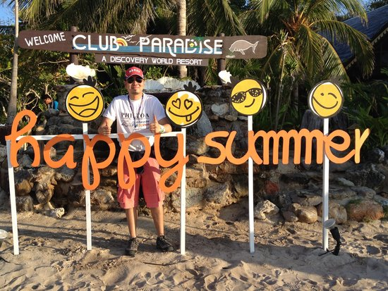 Club Paradise Palawan: Happy place!