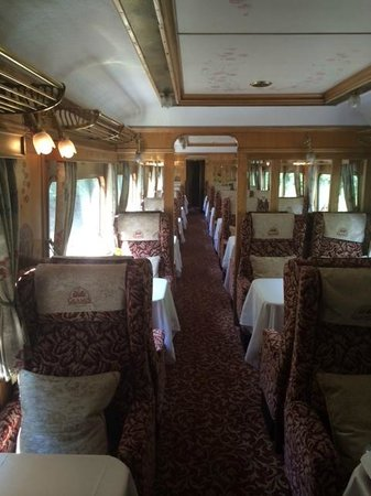 Belmond Northern Belle: The Carriage