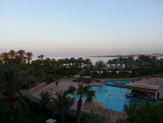 Fort Arabesque Resort, Spa & Villas : View from our room