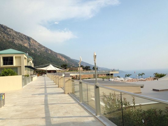 Orka Sunlife Hotel: Stunning landscape and sky