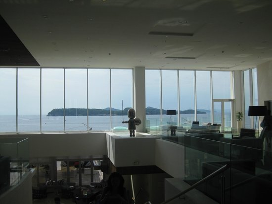 Valamar Dubrovnik President Hotel: View from Reception