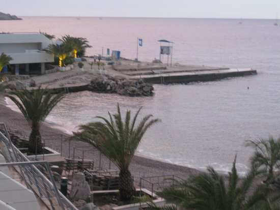 Valamar Dubrovnik President Hotel: Beach after hours