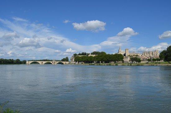 Pont Saint-Bénézet (Pont d'Avignon) : pont et palais