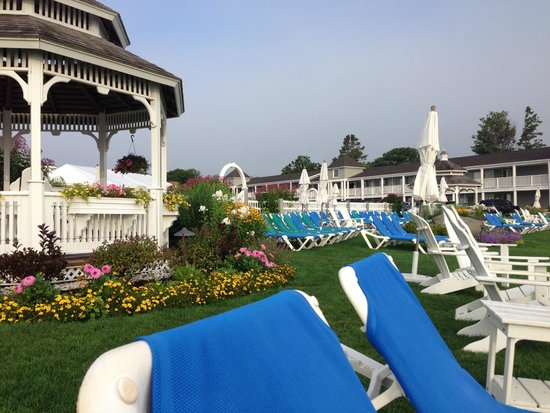 The Anchorage By the Sea : Grounds of Hotel by Ocean
