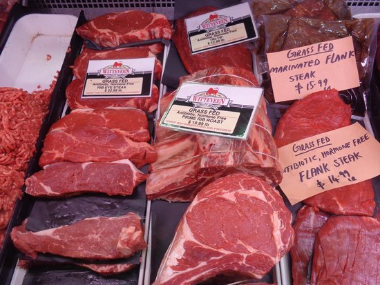 St. Lawrence Market: Grass fed beef
