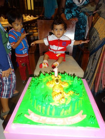 Aloft Ahmedabad SG Road : Vihaan's 1st Birthday Celebration at Aloft Hotel