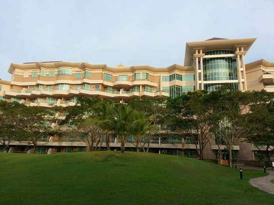 The Empire Hotel & Country Club : Sea view room