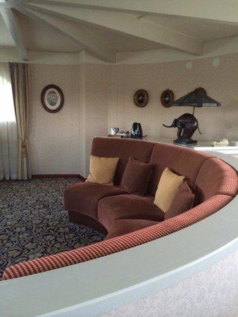 """Scandic Imatran Valtionhotelli: Suite della parte """"castello"""" dell'hotel"""