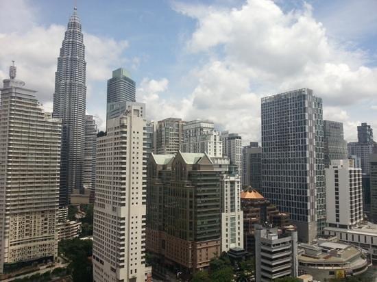 Shangri-La Hotel Kuala Lumpur: The view from my room
