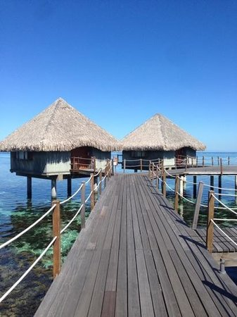 Le Meridien Tahiti: Bungallows
