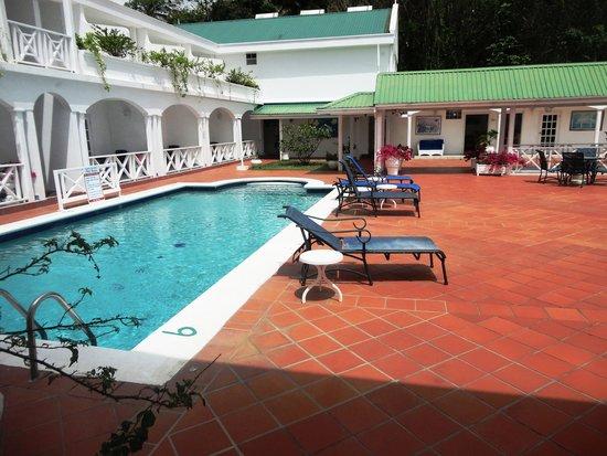 Auberge Seraphine: Swimming pool