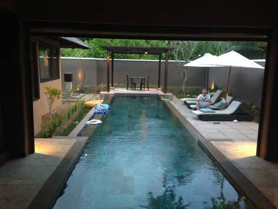Constance Ephelia: Private pool at spa villa