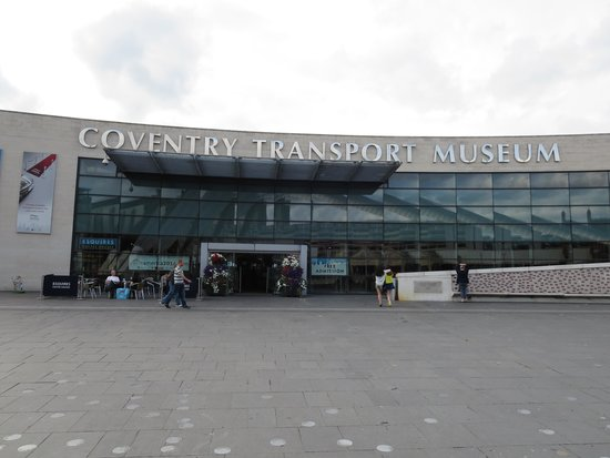 Coventry Transport Museum: museum entrance