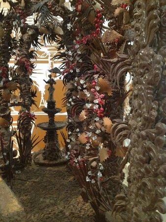 Museu de la Xocolata : chocolate sculpture 1
