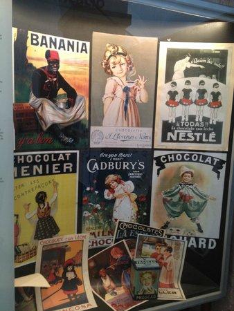 Museu de la Xocolata : chocolate labels