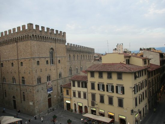 San Firenze Suites & Spa: View from our room