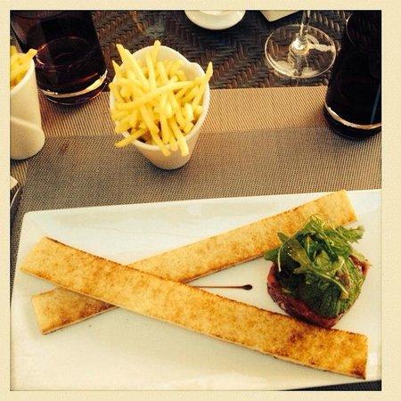 Restaurant le 45: Tartare revisité