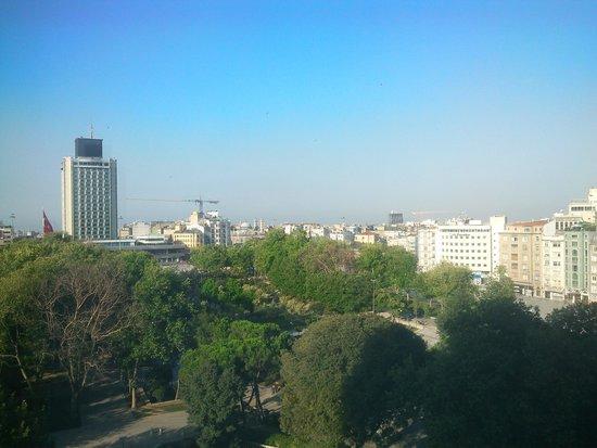 InterContinental Istanbul: 部屋からの眺め