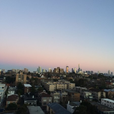 Punthill South Yarra Grand: Beautiful sunrise from 12th floor