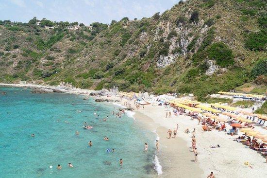 Hotel Grotticelle: пляж 3