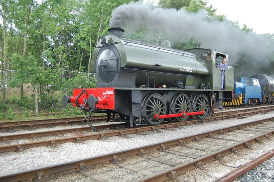 Ribble Steam Railway: 'Walkden' on Armed Forces Day 2014
