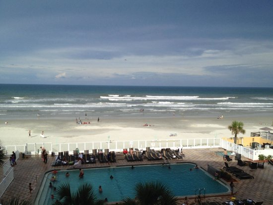 Holiday Inn Resort Daytona Beach Oceanfront: Sea view room 419