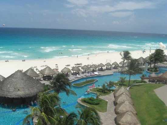 Paradisus Cancun: View from the room