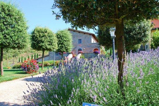 Casa Portagioia: Colorful gardens