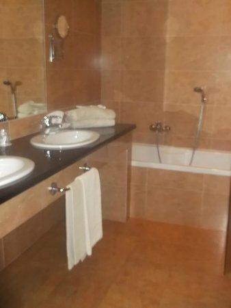 Geovillage Sport Wellness & Convention Resort : baño y aparte ducha